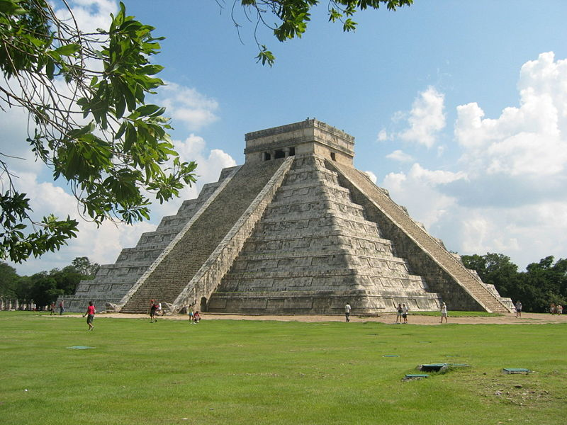 The Temple of Kukulcan, Chichen-Itza, Yucatan, Mexico