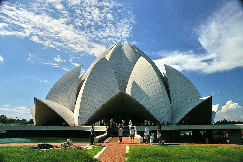 The Lotus Temple, New Delhi, India
